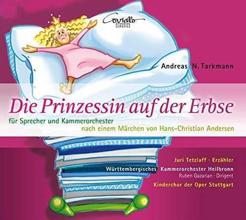 Kammerorchester Heil - Tarkmann:Princess On The Pea (CD) - image 1 of 1