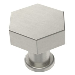 Hexagon Knob (2pk) Satin Nickel - Project 62™