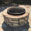 "Steel X-Marks Cooking Grate 36"" - Round - Sunnydaze Decor - image 2 of 4"