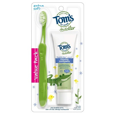 Tom's of Maine Toddler Toothpaste & Toothbrush Set