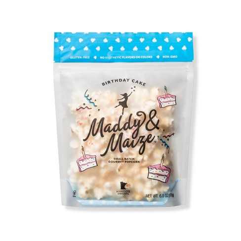 Maddy Maize Birthday Cake Gourmet Popcorn