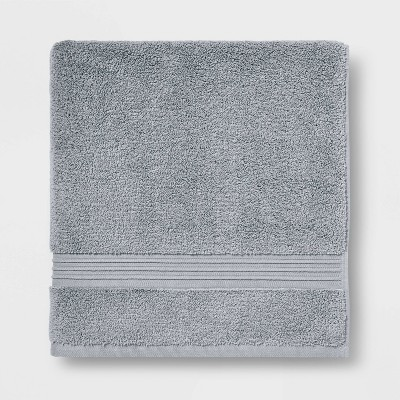 Spa Bath Sheet Light Gray - Threshold Signature™