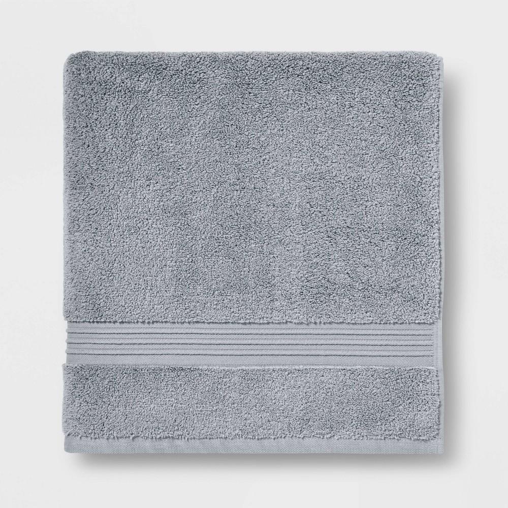 Spa Bath Sheet Light Gray - Threshold Signature Coupons