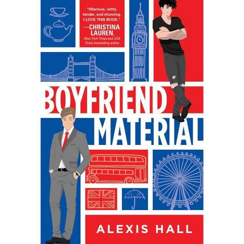 Boyfriend Material - by  Alexis Hall (Paperback) - image 1 of 1