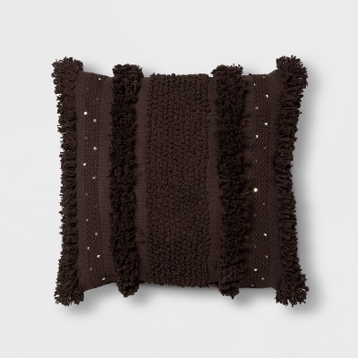 Black Tufted Oversize Throw Pillow - Opalhouse™
