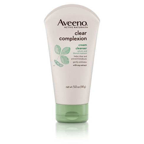 Clear Complexion Cream Face Cleanser With Salicylic Acid by Aveeno #19
