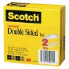 """Scotch 2pk 3/4"""" x 36yd Double Sided Tape 3"""" Core - image 3 of 4"""