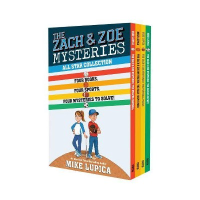 The Zach & Zoe Mysteries All Star Collection - by  Mike Lupica (Mixed Media Product)