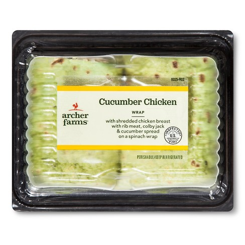 Cucumber Chicken Wrap - 8.6oz - Archer Farms™ - image 1 of 1