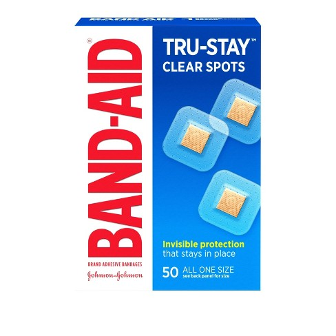 Band-Aid Clear Spot Bandages - 50ct - image 1 of 4