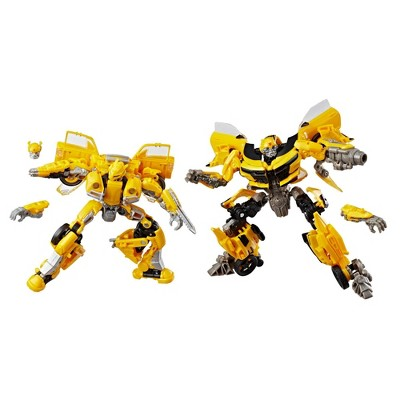 2pk Transformers Toys Studio Series 24 and 25 Deluxe Class Bumblebee Action Figure