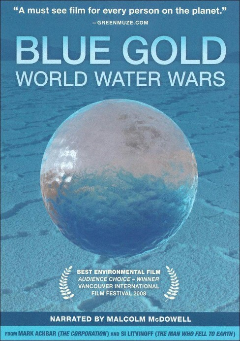 Blue gold:World water wars (DVD) - image 1 of 1