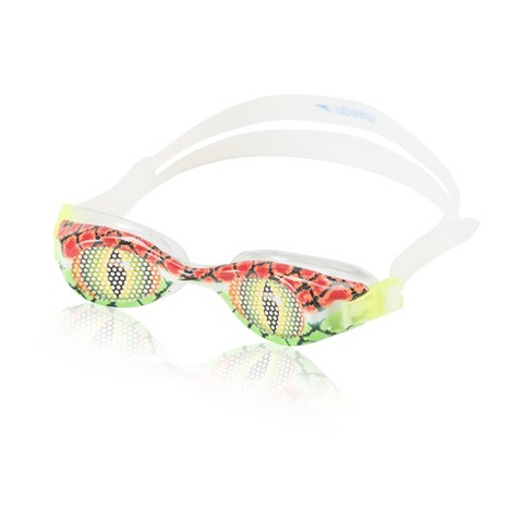 Speedo Kids Glide Print Goggle - Green - image 1 of 1