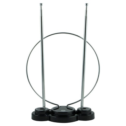 GE TV Antenna, Omni, Indoor Passive Antenna - Silver - image 1 of 4