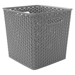 "11"" Y-Weave Basket Bin - Room Essentials™"