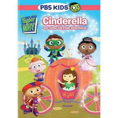 Super Why! Cinderella And Other Fairytale Adventures (DVD)