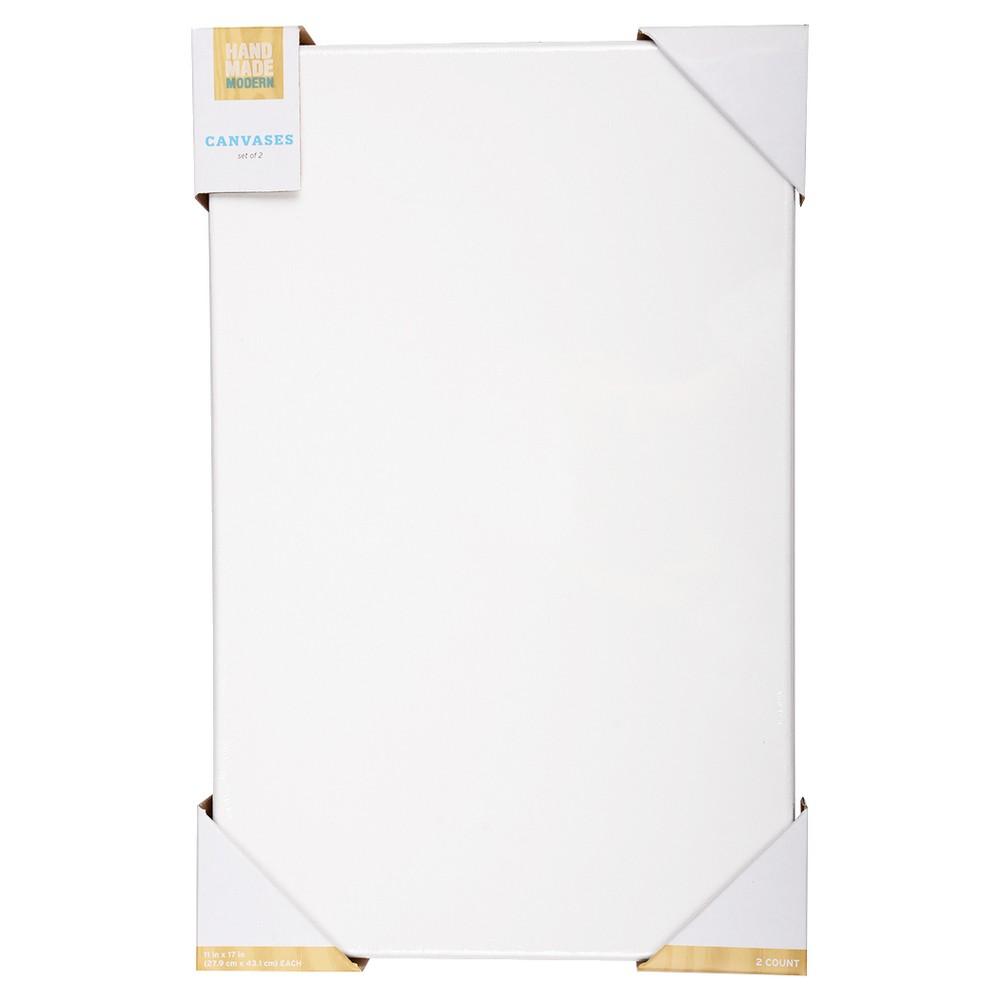 "Image of ""Artist Panel Board, 11"""" x 14"""" Hand Made Modern , White"""
