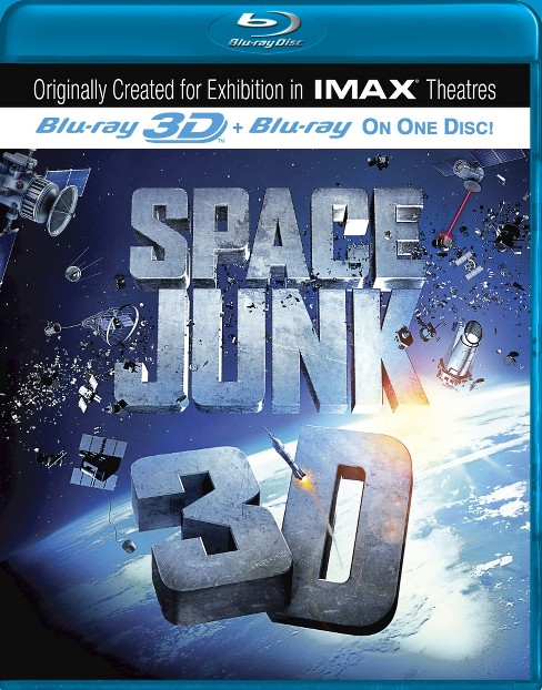 Space junk 3d (Imax) (Blu-ray) - image 1 of 1