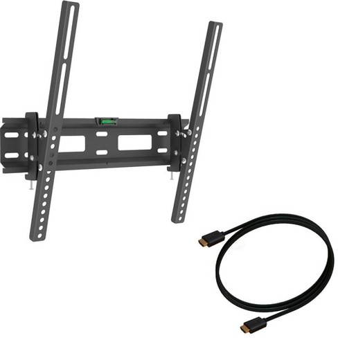 """Barkan 2-in-1 Tilt TV Wall Mount for 13"""" - 60"""" + 1.8M HDMI Cable - image 1 of 4"""