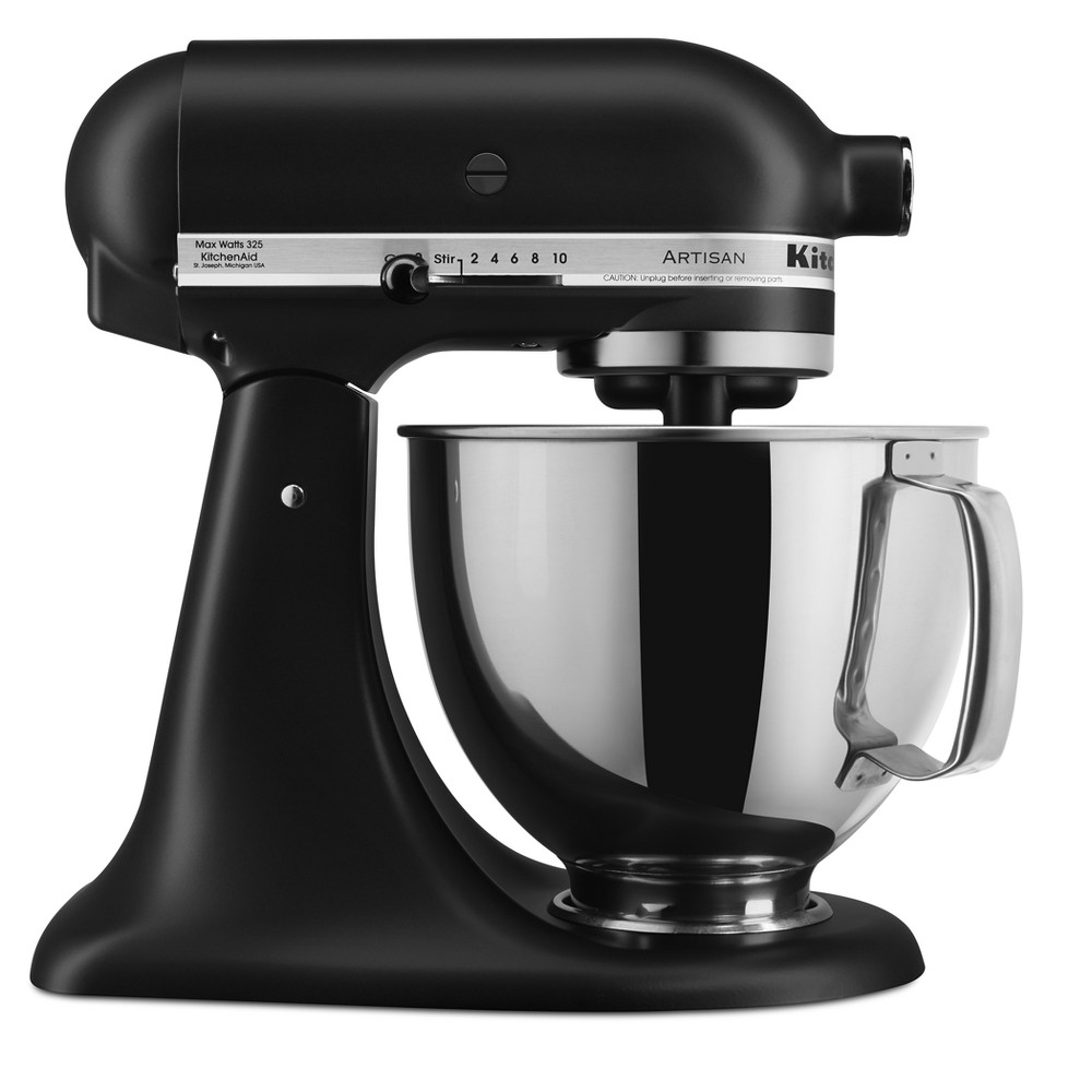 KitchenAid Artisan Stand Mixer – Matte Black KSM150 53021309
