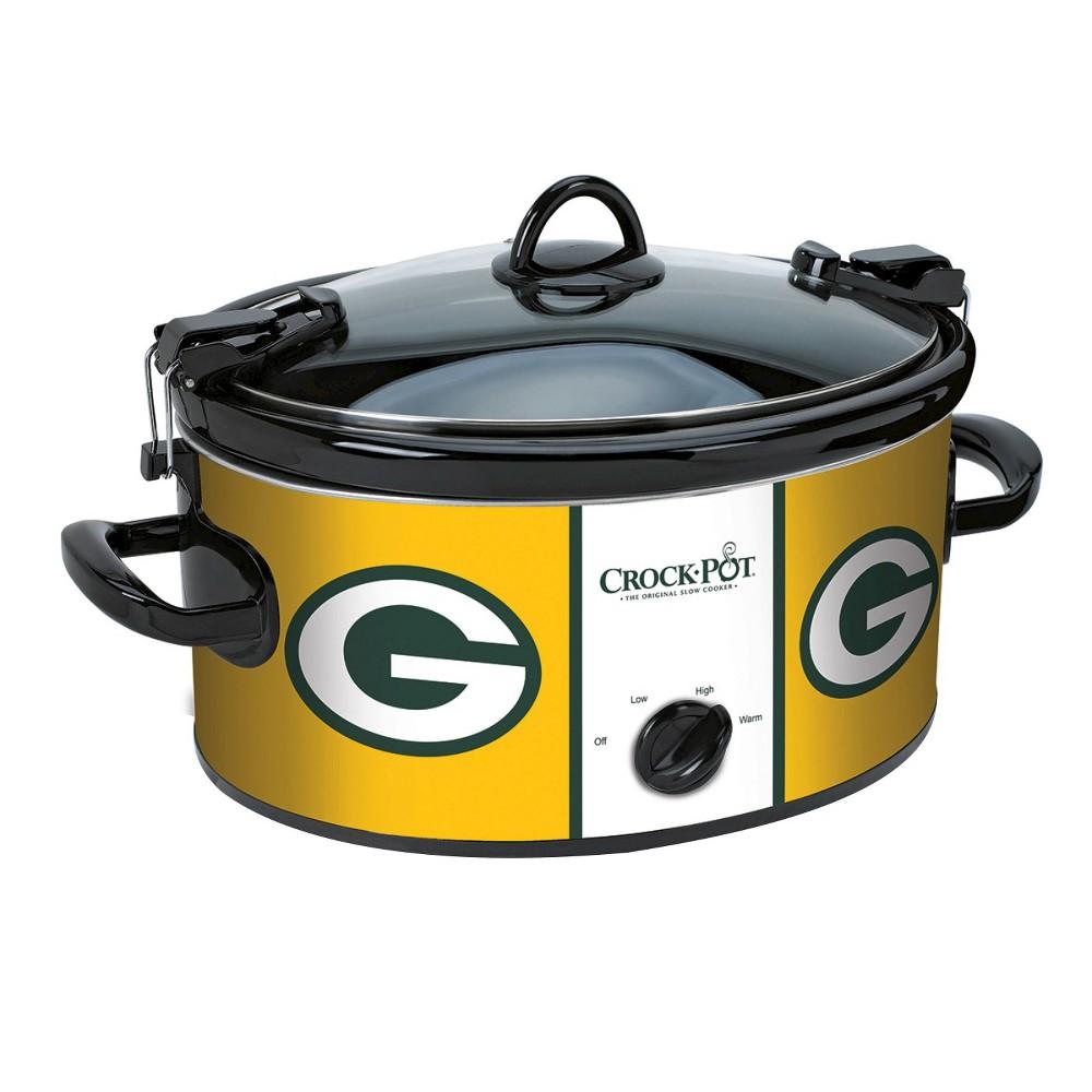 Green Bay Packers NFL Crock-Pot Cook & Carry Slow Cooker, SCCPNFL600-GB, Gold