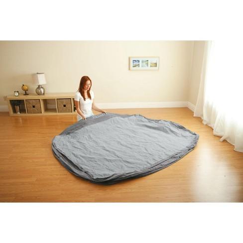 2209777329378 Intex Comfort Plush High Rise Dura-Beam Air Bed Mattress W  Built-In Pump