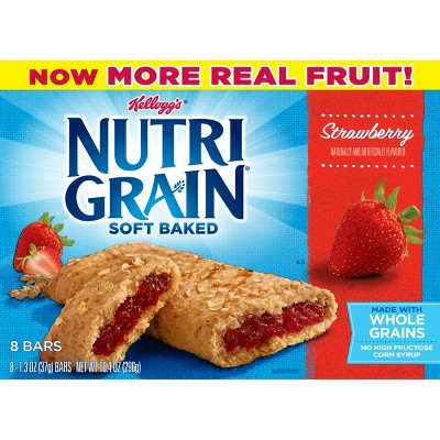 Breakfast & Cereal Bars: Nutri-Grain Soft Baked Bars