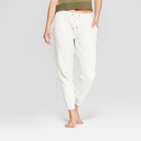 e3f0bdecf6c2 Women s Brushed Fleece Lounge Jogger Pants - Stars Above™   Target