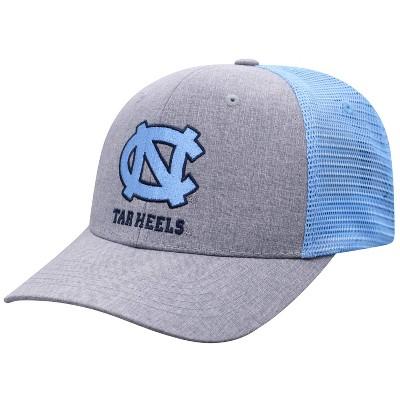 NCAA North Carolina Tar Heels Men's Gray Chambray with Hard Mesh Snapback Hat