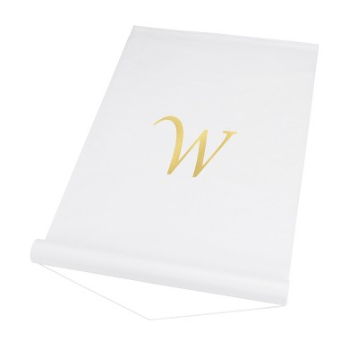 Cathy's Concepts Personalized Wedding Aisle Runner