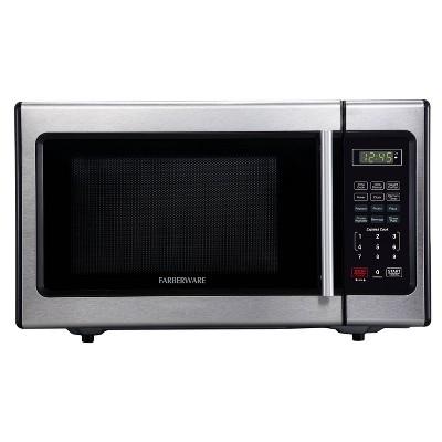 Faberware 0.9 cu ft Microwave Oven - Silver