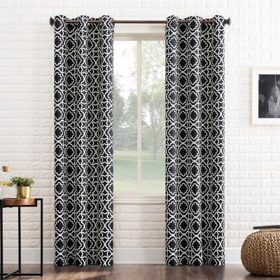 Barnett Trellis Blackout Grommet Top Curtain Panel - Sun Zero