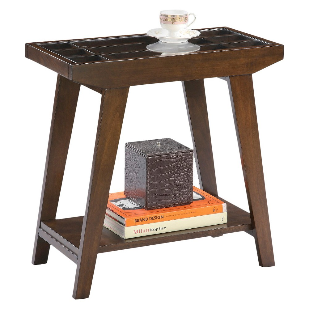 Ore International Side Table Traditional - Brown