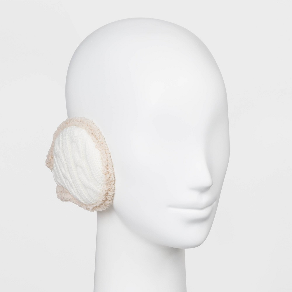 Image of Degrees by 180s Women's Cable Knit Winter Headband - White One Size, Women's, Ivory
