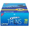 Oreo Thins Chocolate Sandwich Cookies - 12.24oz/12ct - image 2 of 4