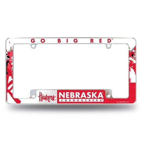 NCAA Nebraska Cornhuskers License Plate Frame