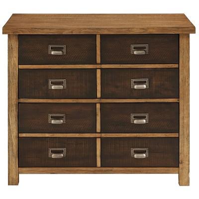 Heritage File Cabinet Brown - Martin Furniture