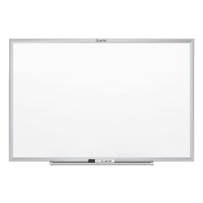 Quartet Classic Series Melamine Whiteboard 60 x 36 Silver Aluminum Frame S535