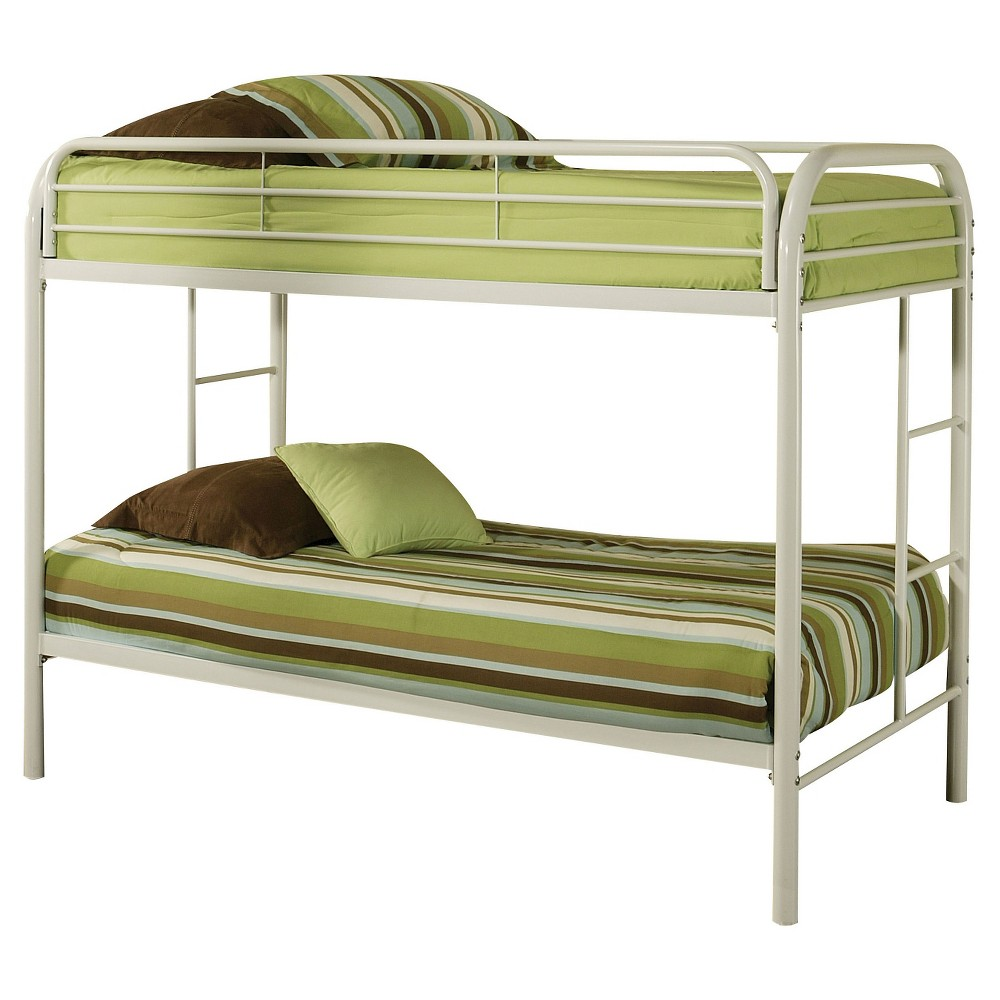 Thomas Kids Bunk Bed - White(Twin/Twin) - Acme