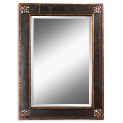 Rectangle Bergamo Vanity Decorative Wall Mirror - Uttermost