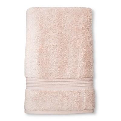 Spa peach Stripe Bath Sheet - Fieldcrest®