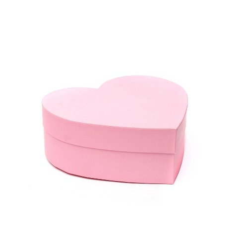 Heart Shaped Gift Box Pink Spritz Target