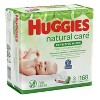 Huggies Natural Care Sensitive Unscented Baby Wipes (Select Count) - image 2 of 3
