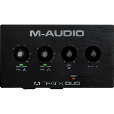 M-Audio M-Track Duo 2-Channel USB Audio Interface