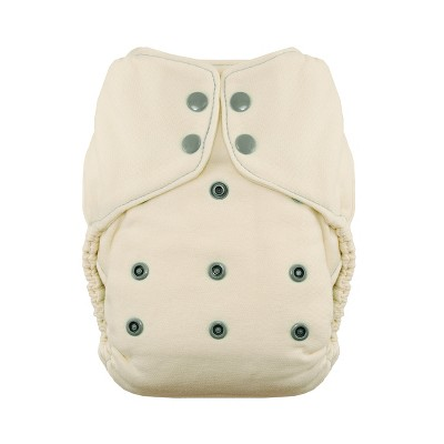 Thirsties | Natural One-Size Fitted Cloth Diaper Pack of 1
