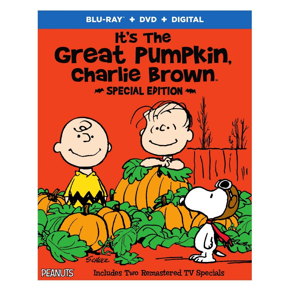 Its the Great Pumpkin Charlie Brown: Special Edition (Blu-Ray)