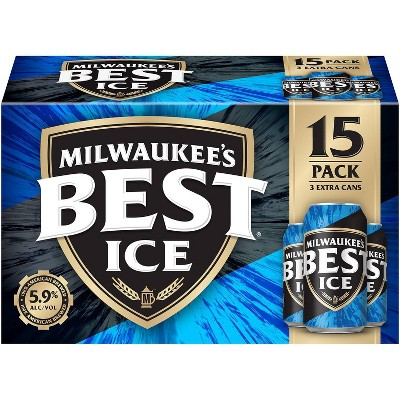 Milwaukee's Best Ice Beer - 15pk/12 fl oz Cans