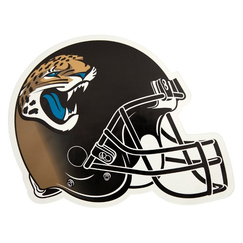 NFL Jacksonville Jaguars Large Outdoor Helmet Decal - image 1 of 1