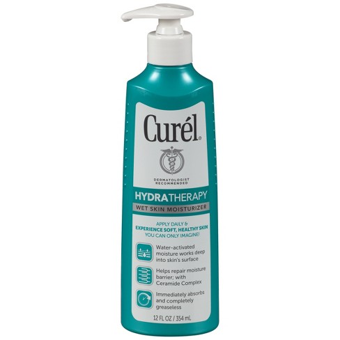 Unscented Curel Hydra Therapy Wet Skin Moisturizer - 12oz - image 1 of 3