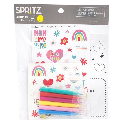DIY Mother's Day Coupon Book - Spritz™ - image 1 of 2